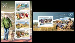 TOGO 2014 - Dogs, Ducks - YT 4286-9 + BF936; CV = 31 €