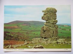 Bowermans Nose - Dartmoor Devon GB - Menhir - Dolmen & Menhirs