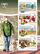 TOGO 2014 - Dogs, Handicaps - YT 4286-9; CV = 17 €