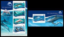 TOGO 2014 - Dolphins - YT 4290-3 + BF937; CV = 31 €