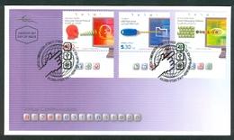 Israel FDC - 2009, Philex Nr. 2080-2082,  Mint Condition