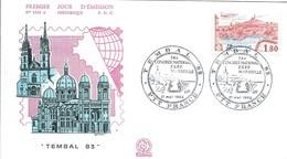 Enveloppe Premier Jour D'émission/Tembal/Congrés Natioanl ESPF/ MARSEILLE/1983     PJE72 - Stamps