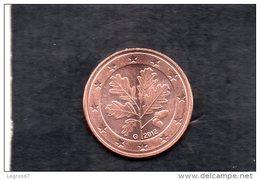PIECE DE 5 CT D'EURO ALLEMAGNE 2012 G - Allemagne