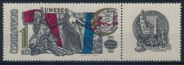 **Czechoslovakia 1971 Mi 1992 Coupon UNESCO MNH - Tschechoslowakei/CSSR
