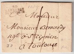 """"""" 30 Bagneres De LuconInd """". Ind. 8, #7422 - Marcofilia (sobres)"""