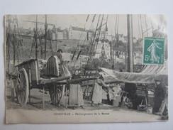 50 Manche Granville Déchargement De La Morue