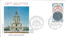 Enveloppe Premier Jour D'émission/Hotel Des Invalides/PARIS.Seine/1974   PJE78 - Timbres