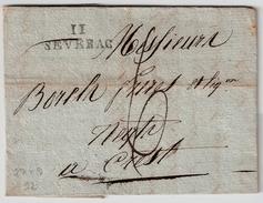 """1819 , """" 11 SEVRAG """" Ind 12    , #7418 - Marcofilia (sobres)"""