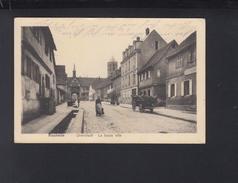 Carte Postale Rosheim La Basse Ville  1915 - Alsace