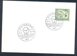 Germany Deutschland 1966 Card: Boxing Box Boxe; Deutsche Amateur Box Meisterschften Duisburg