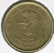Ouganda Uganda 500 Shillings 2003 KM 69 - Ouganda