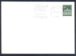 Germany Deutschland 1967 Card: Boxing Box Boxe; Deutsche Amateur Box Meisterschften Münster
