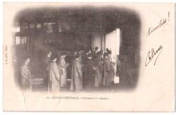 Paris - Ecole Centrale - L'Entrée à L'Amphi - édit. A.B. Bergeret Albert 16 + Verso - Enseignement, Ecoles Et Universités