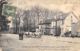 CPA 95 L AUBERGE DE CHAMPLATREUX PRES LUZARCHES 1907 - Luzarches