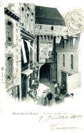 N°34409 -cpa Le Mont Saint Michel -la Porte Du Roi- - Le Mont Saint Michel