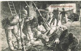 407 L'achevement Des Blessés - Guerre 1914-18