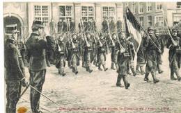 408 Decoration Du 7 Ieme De Ligne Apres La Bataille De L'Yser - Guerre 1914-18