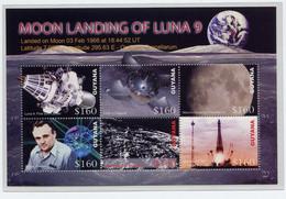 Guyana  2006,  Space, Satellite, (Nr. 7839/7844)