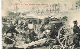 413 Une Batterie Belge En Action - Guerre 1914-18