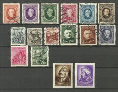 Slovaquie N°24 à 29, 41 à 44, 45A, 46A, 55, 57, 105, 106 Cote 5.70 Euros - Slovakia