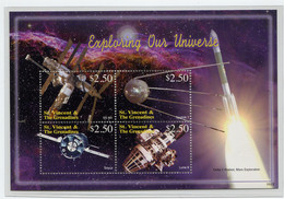 St. Vincent, 2006 Space, Espace, MIR, Sputnik (Nr. 6338/6341)