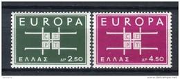 Grecia 1963. Yvert 799-800 ** MNH. - Greece