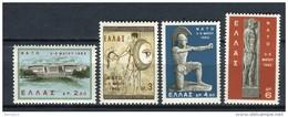 Grecia 1962. Yvert 770-73 ** MNH. - Greece