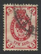 Russia, 3 K. 1902, Sc # 57, Mi # 47y, Used