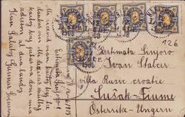 SWEDEN - KARLSHAMN - ESPERANTO - 1908