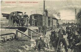 428 Train Blindé En Action - Weltkrieg 1914-18