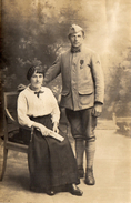 CARTE - PHOTO -  SOLDAT   - 53ème Régiment ....??? - Weltkrieg 1914-18