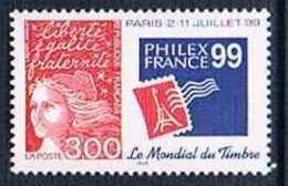 France 1997 Yt N°3127 MNH ** PHILEXFRANCE '99 - France