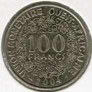 Afrique De L´Ouest West African States Union Monétaire 100 Francs 2004 BCEAO UMOA KM 4 - Autres – Afrique