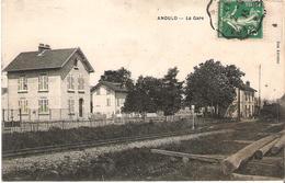 ANOULD - La Gare - Train En Gare - Animée - Anould