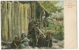 Tribu De Quinchacre Peru Indiens Avec Arc Et Fleches , Lances Archery  Edit Polack Schneider - Pérou