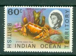 British Indian Territory (BIOT): 1968/70   QE II - Marine Life   SG23a    60c   MH - British Indian Ocean Territory (BIOT)