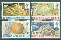 British Indian Territory (BIOT): 1972   Coral   MH - British Indian Ocean Territory (BIOT)