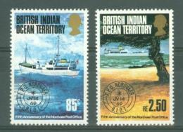 British Indian Territory (BIOT): 1974   Fifth Anniv Of 'Nordvaer' Travelling Post Office   MH - Territoire Britannique De L'Océan Indien