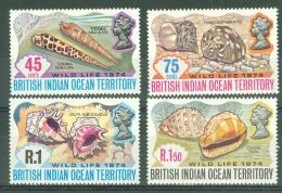 British Indian Territory (BIOT): 1974   Wildlife (Series 2)   MH - British Indian Ocean Territory (BIOT)