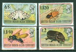 British Indian Territory (BIOT): 1976   Wildlife (Series 4)   MH - British Indian Ocean Territory (BIOT)