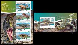 TOGO 2014 - Dinosaurs, Fossils - YT 4282-5 + BF935; CV = 31 €