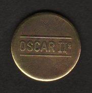 GETTONE OSCAR II° DIAMETRO 2,6 Cm - Monetary/Of Necessity