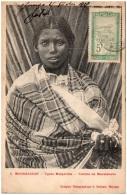 MADAGASCAR - Types Malgaches - Femme De Mevatanana  (Recto/Verso) - Madagascar