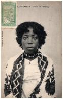 MADAGASCAR - Femme De L'Ambongo  (Recto/Verso) - Madagascar