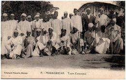 MADAGASCAR - Types Comoriens  (Recto/Verso) - Madagaskar