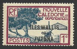 Wallis And Futuna, 1 C. 1930, Sc # 43, MNH - Unused Stamps