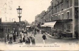 14 LUC-sur-MER  Rue Du Grand Orient - Luc Sur Mer
