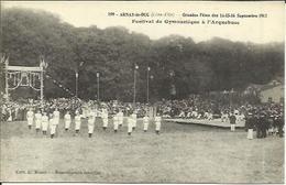 CPA De ARNAY LE DUC - Grandes Fêtes Des 14-15-16 Septembre 1912 - Festival De Gymnastique De L'Arquebuse. - Arnay Le Duc