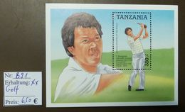 Tanzania  Nakajima Golf  Nr: Block 91  ** MNH Postfrisch  #4710