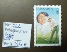 Tanzania  Aoki Golf  Nr: 562  ** MNH Postfrisch  #4710